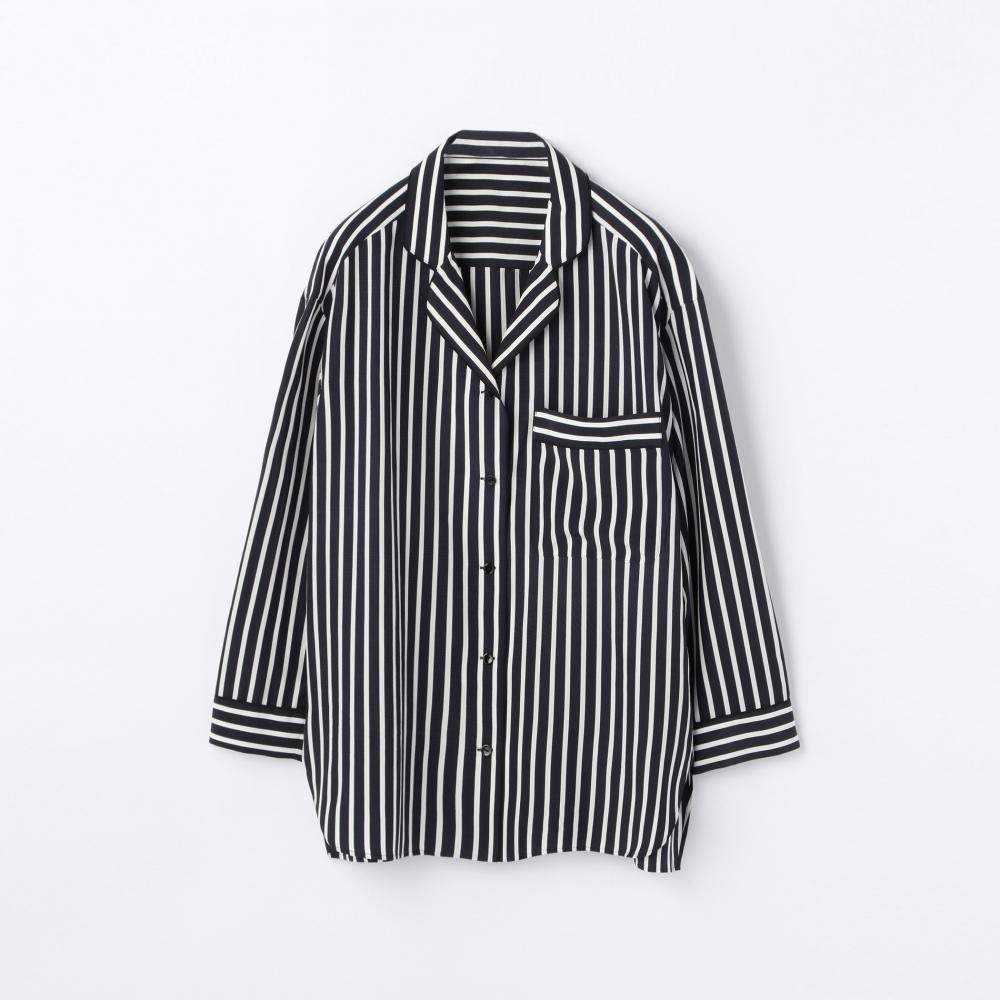シルク ビッグシャツ