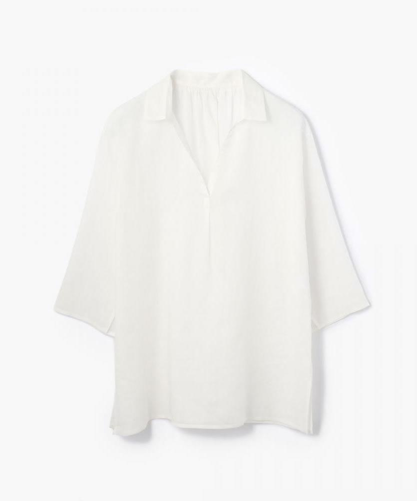 クラッシュラミー スキッパーチュニックシャツ