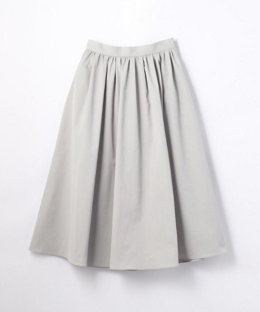 ポリエステルツイル タックギャザースカート