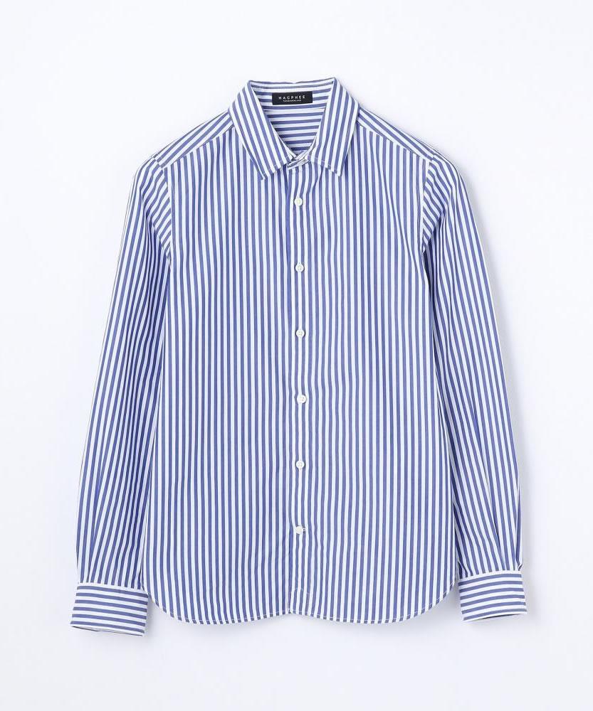 コットンブロード ワイヤーシャツ