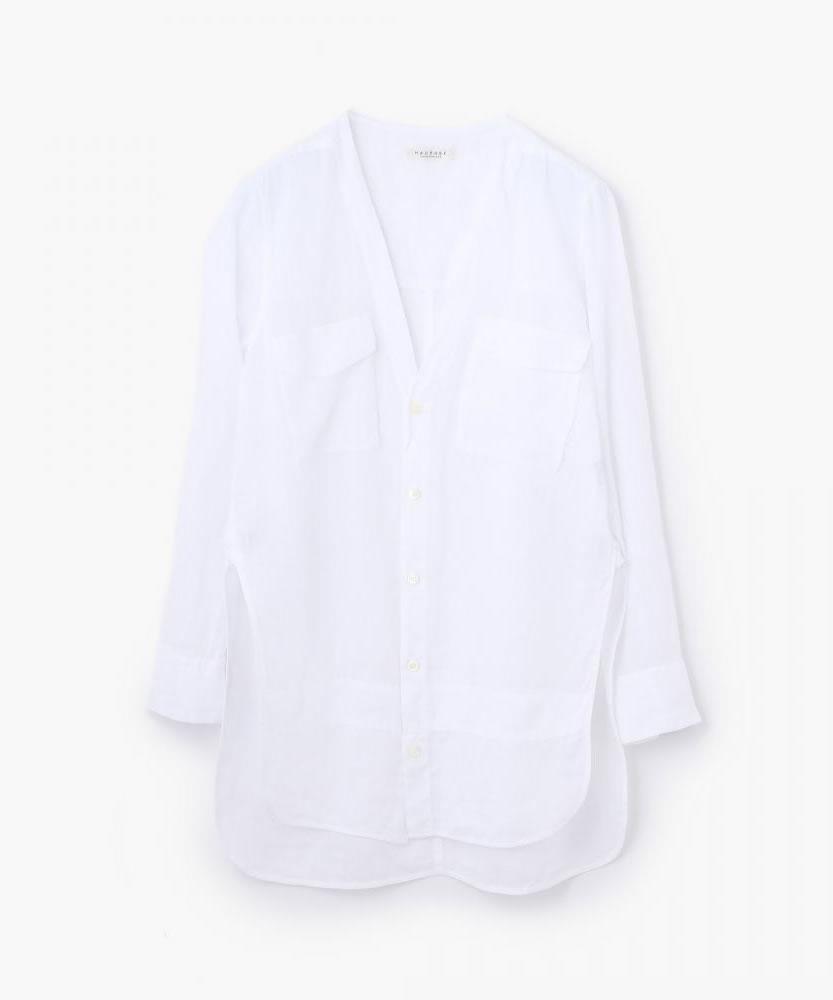 ピースダイラミー Vネックチュニックシャツ