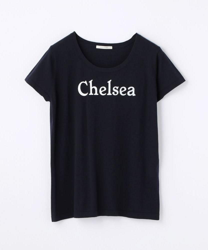 コットンニット プリントTシャツ(CHELSEA)