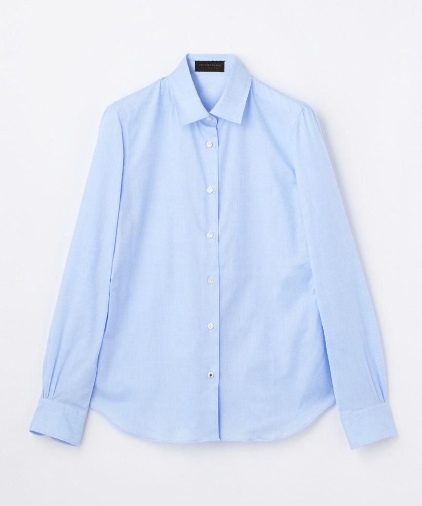 コットン レギュラーシャツ