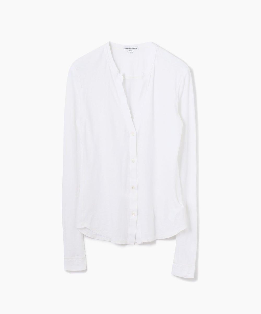 コットンリネン ジャージーシャツ WYH3765