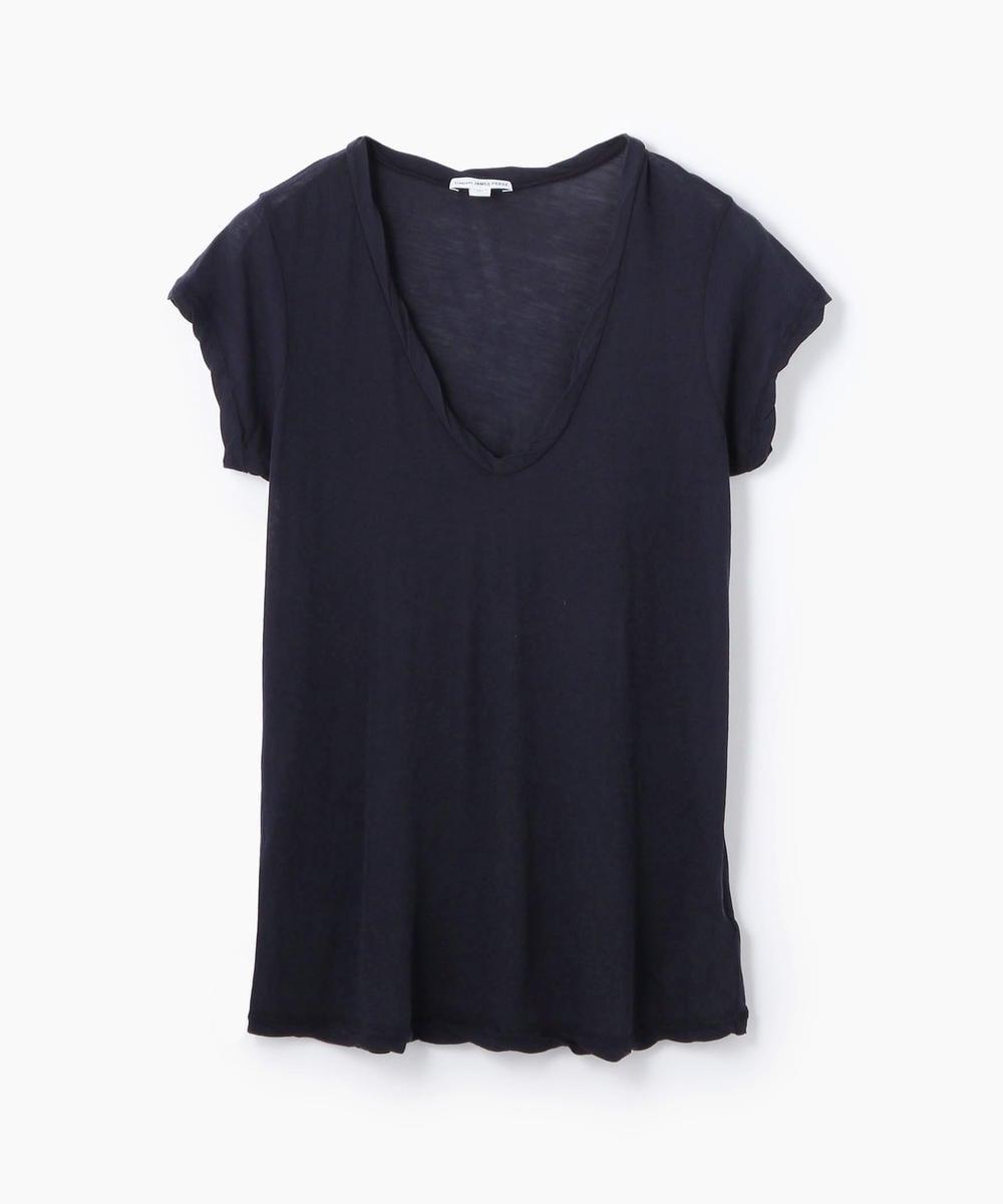 ハイゲージ Vネック Tシャツ WEK3182