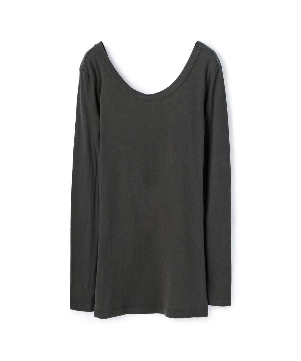 オープンバックTシャツ WJE3792