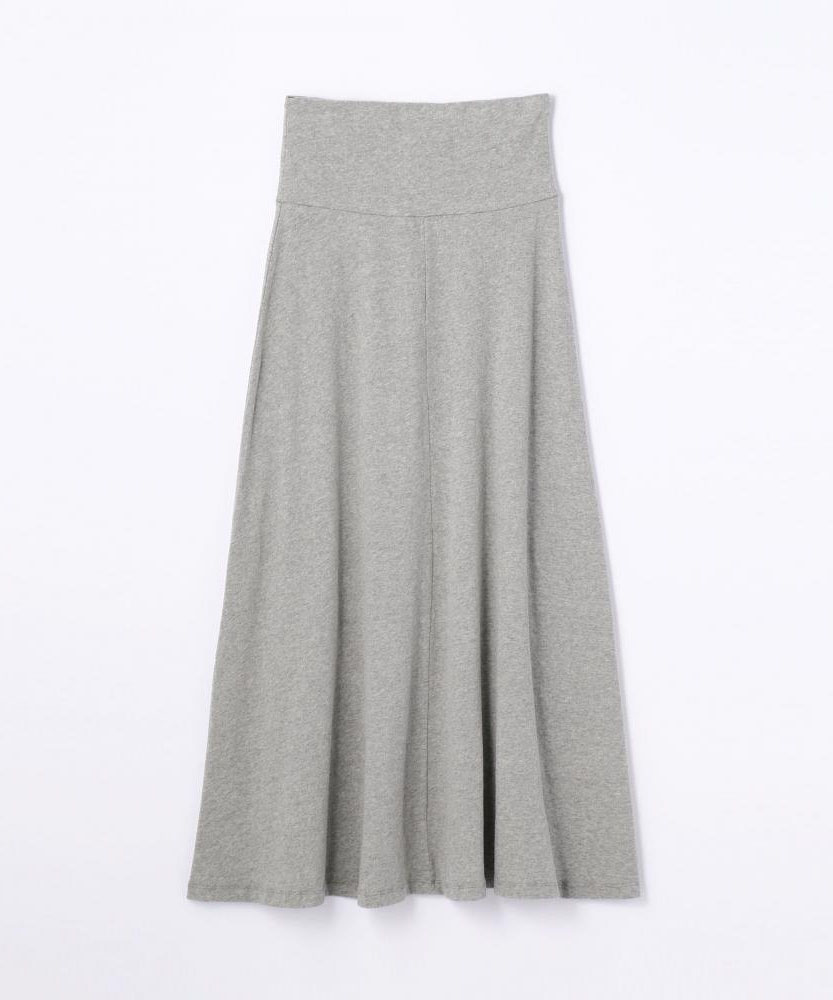 ブラッシュドジャージー スカート WMU5841