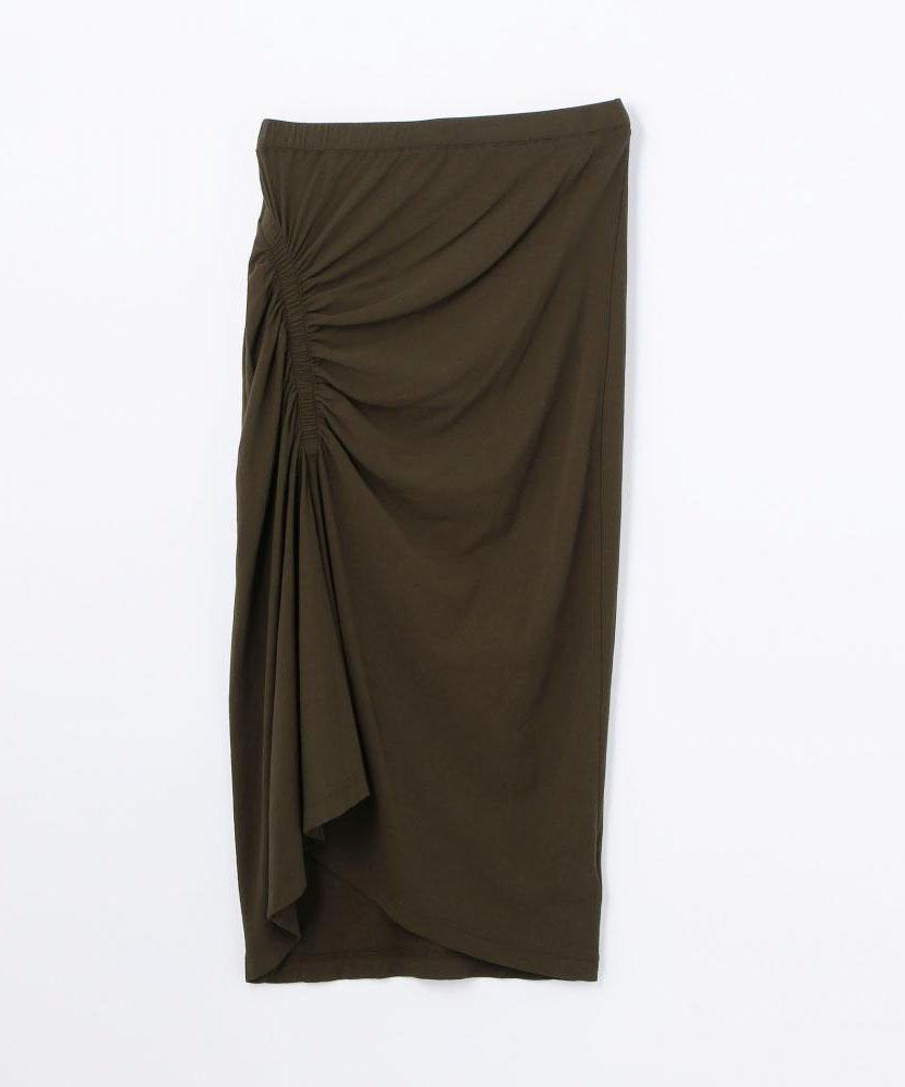 ギャザースパイラルスカート WHTJ5896