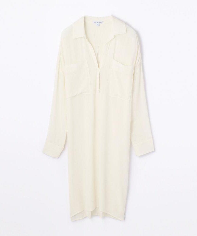 オーバーサイズ シャツドレス WTWF6005
