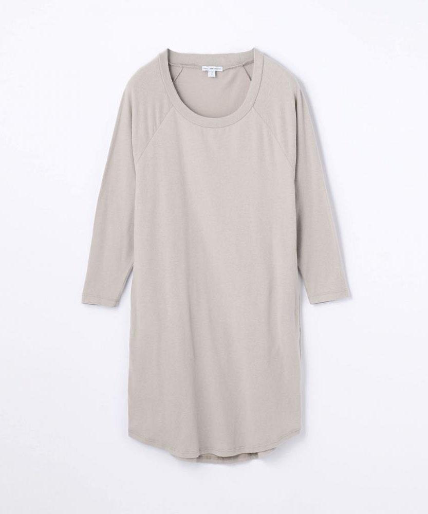 ブラッシュドジャージーチュニックドレス WMU6810