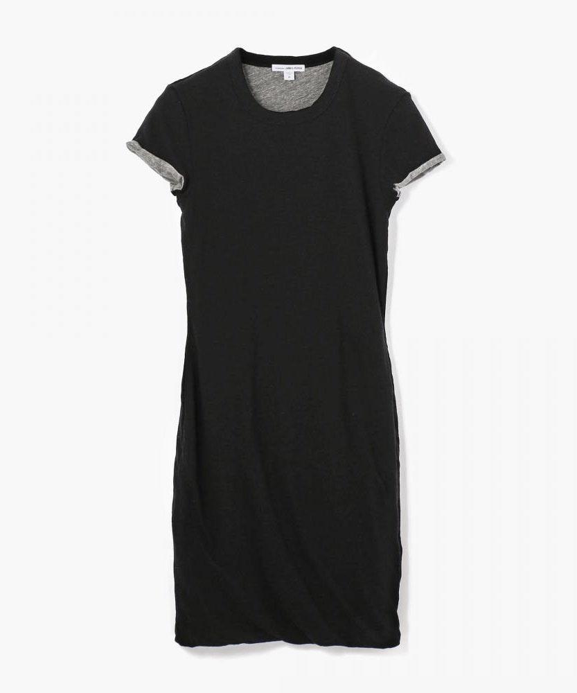 2トーンカラージャージードレス WRSK6223