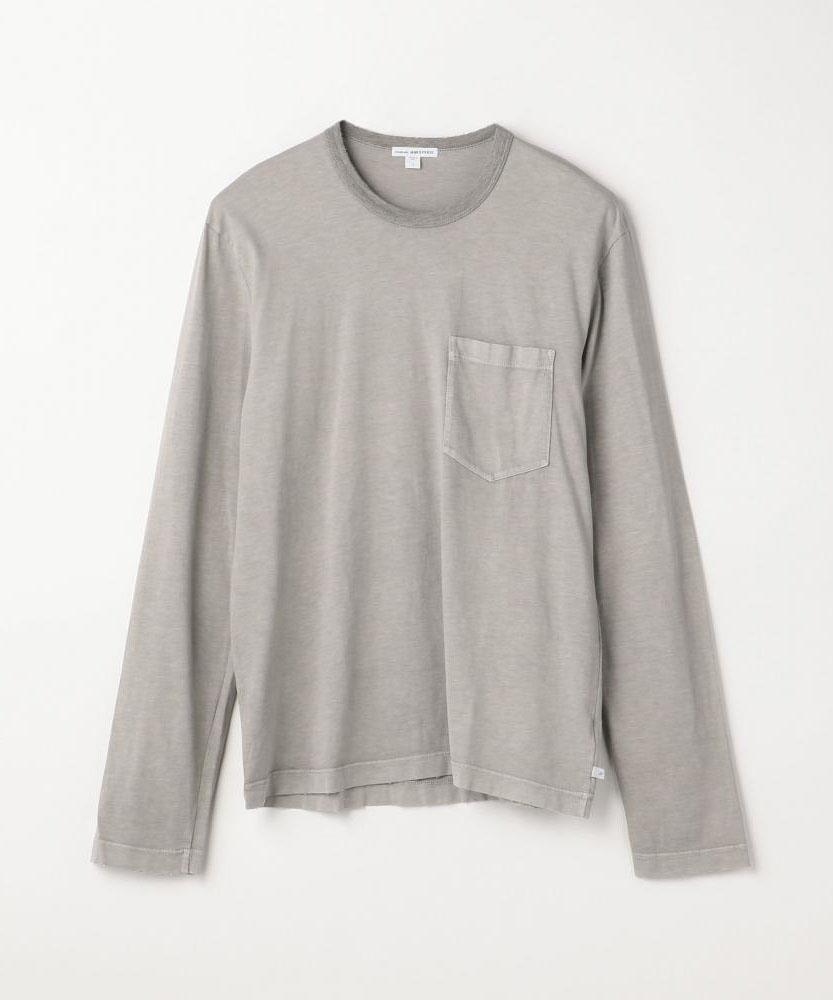 配色リンガーグラインド長袖Tシャツ MSX3568G