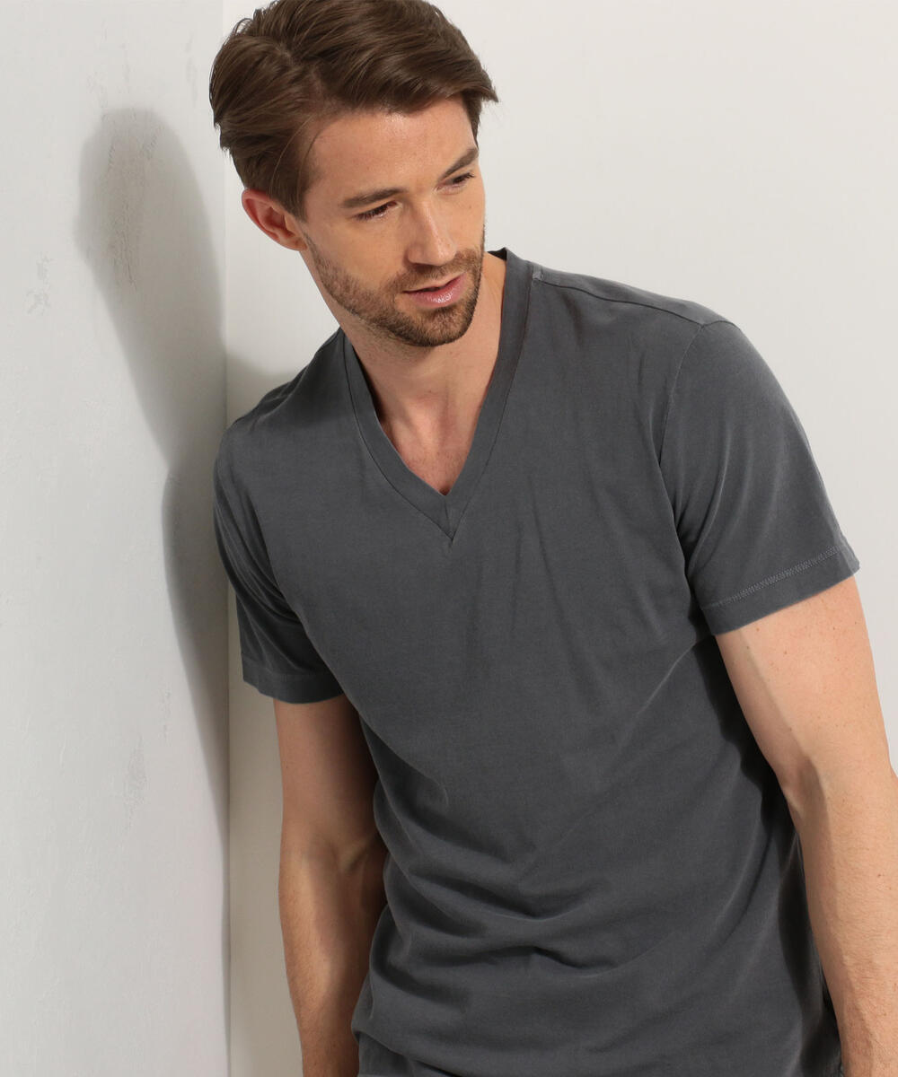 ベーシック VネックTシャツ MLJ3352