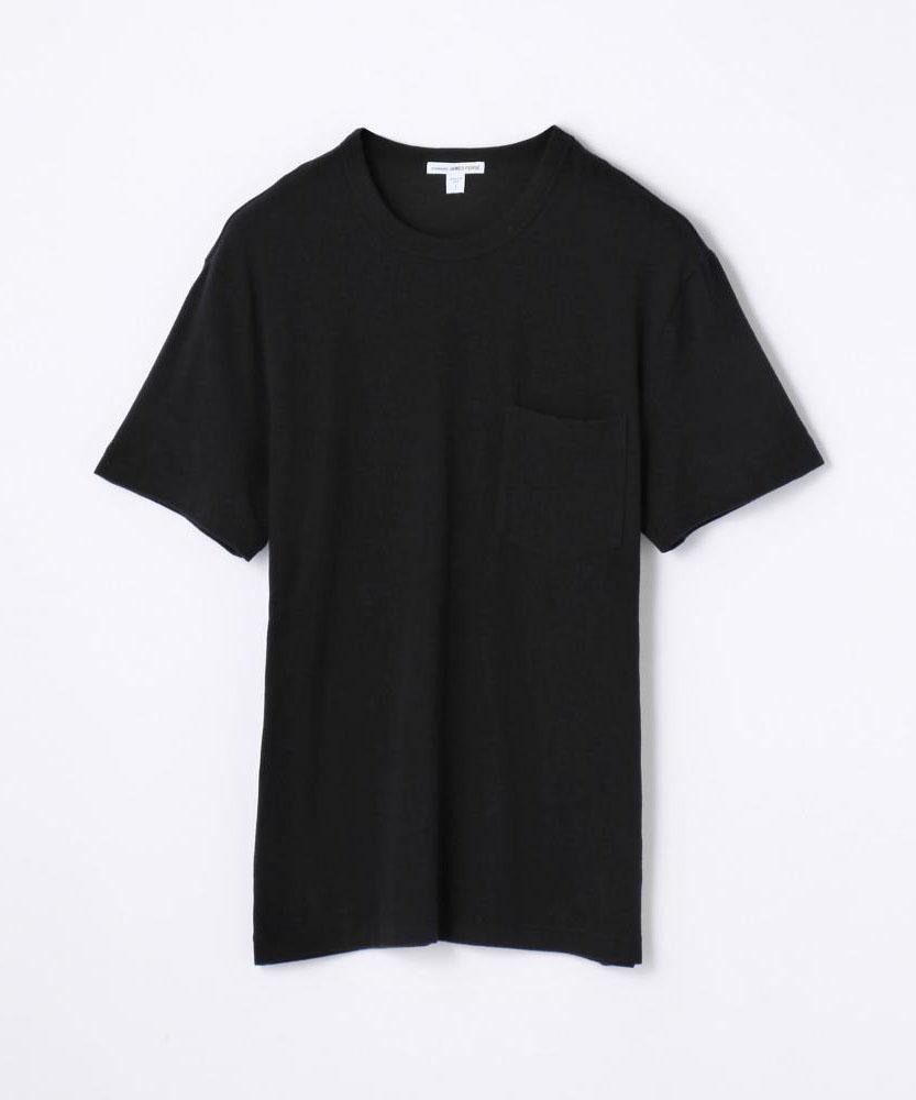 ブラッシュドジャージー ポケットTシャツ MMU3010