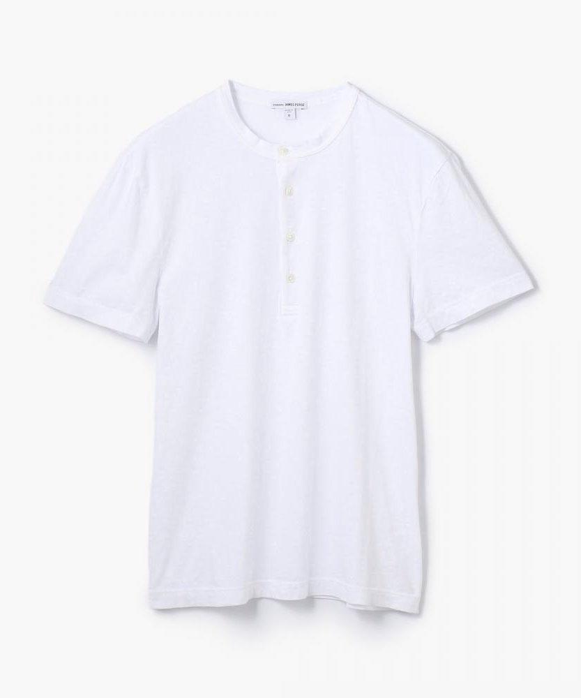 スビンコットン ヘンリーンネックTシャツ MIT3096