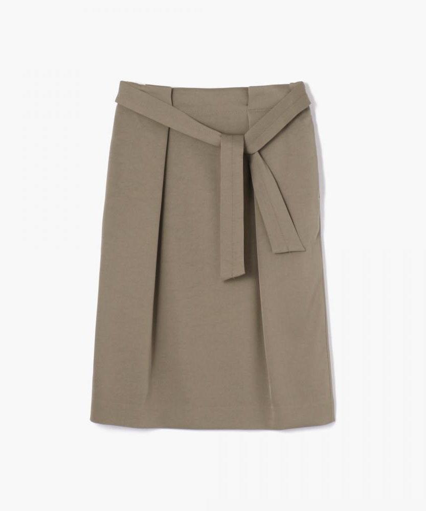トリアセテートポリエステル タックギャザースカート