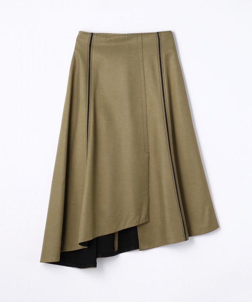 レーヨンキュプラボンディング フレアスカート