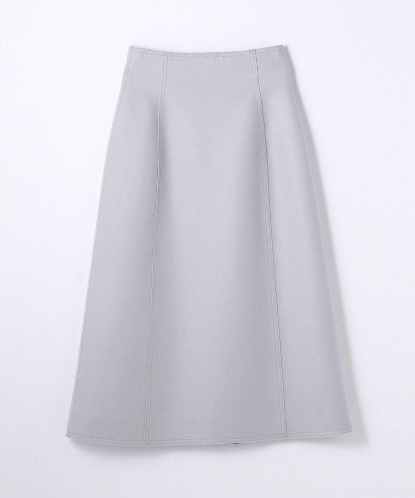 ウール トラペーズスカート