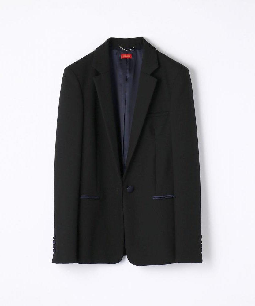 ウール スモーキングジャケット