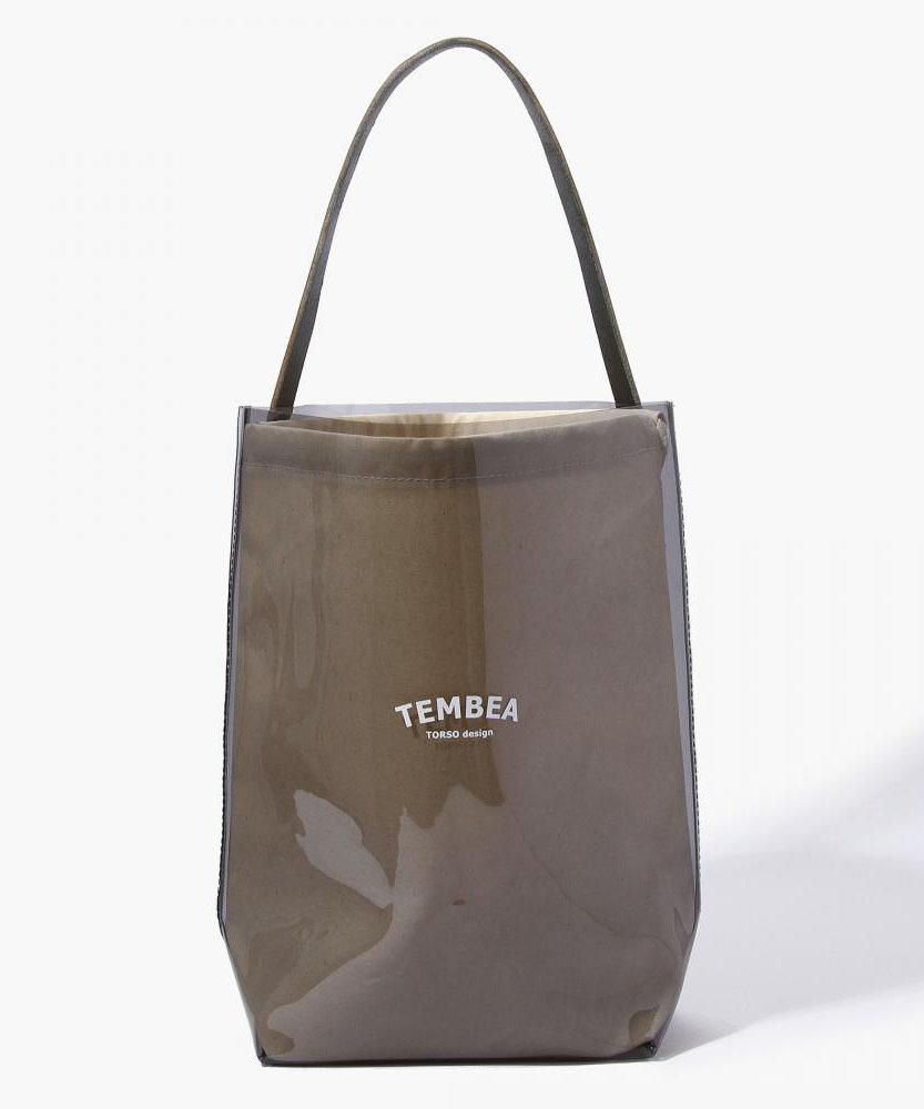 TEMBEA ビニールバゲットバッグ