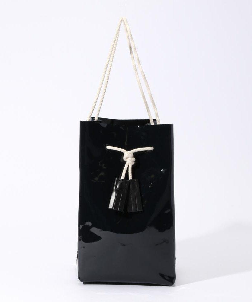 TEMBEA エナメルハンドバッグ