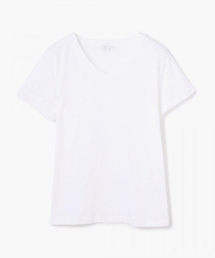 SUNSPEL VネックTシャツ