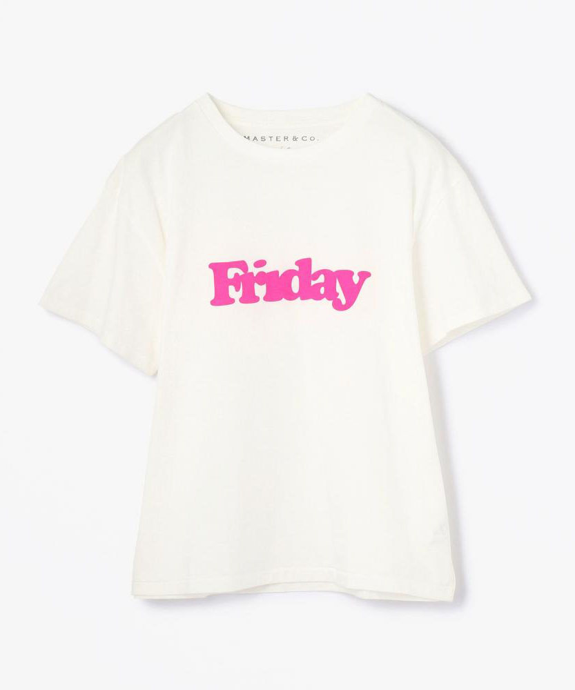 【別注】MASTER&Co.×TOMORROWLAND Week Tシャツ
