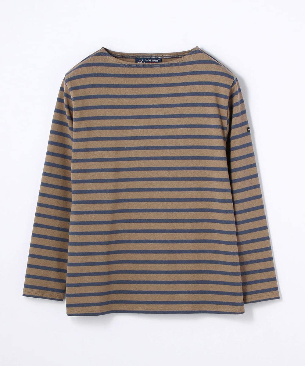 SAINT JAMES OUESSANT ボーダーTシャツ