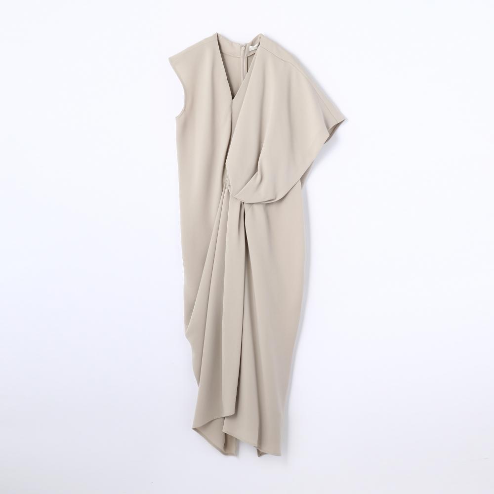 THE DRESS BY FLICKA アシンメトリーワンピース