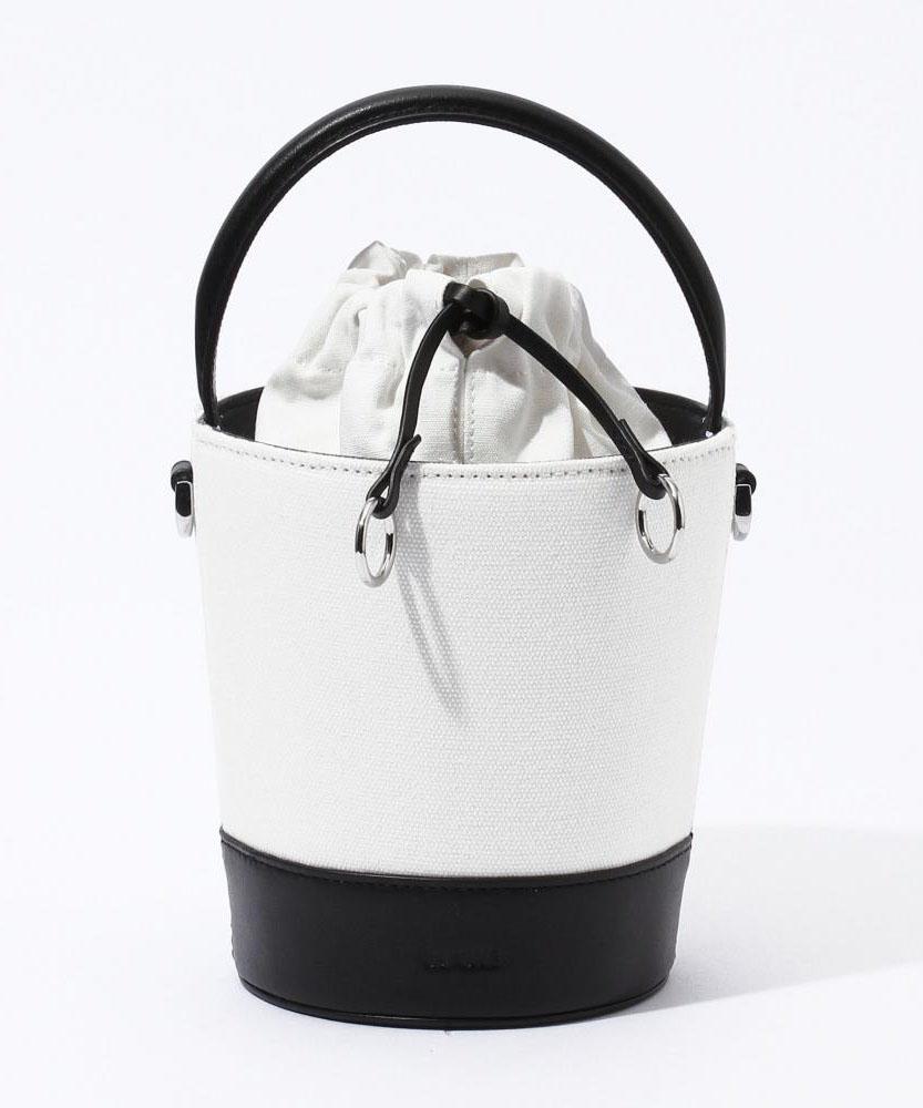 CAFUNE レザーコンビミニバゲットバッグ