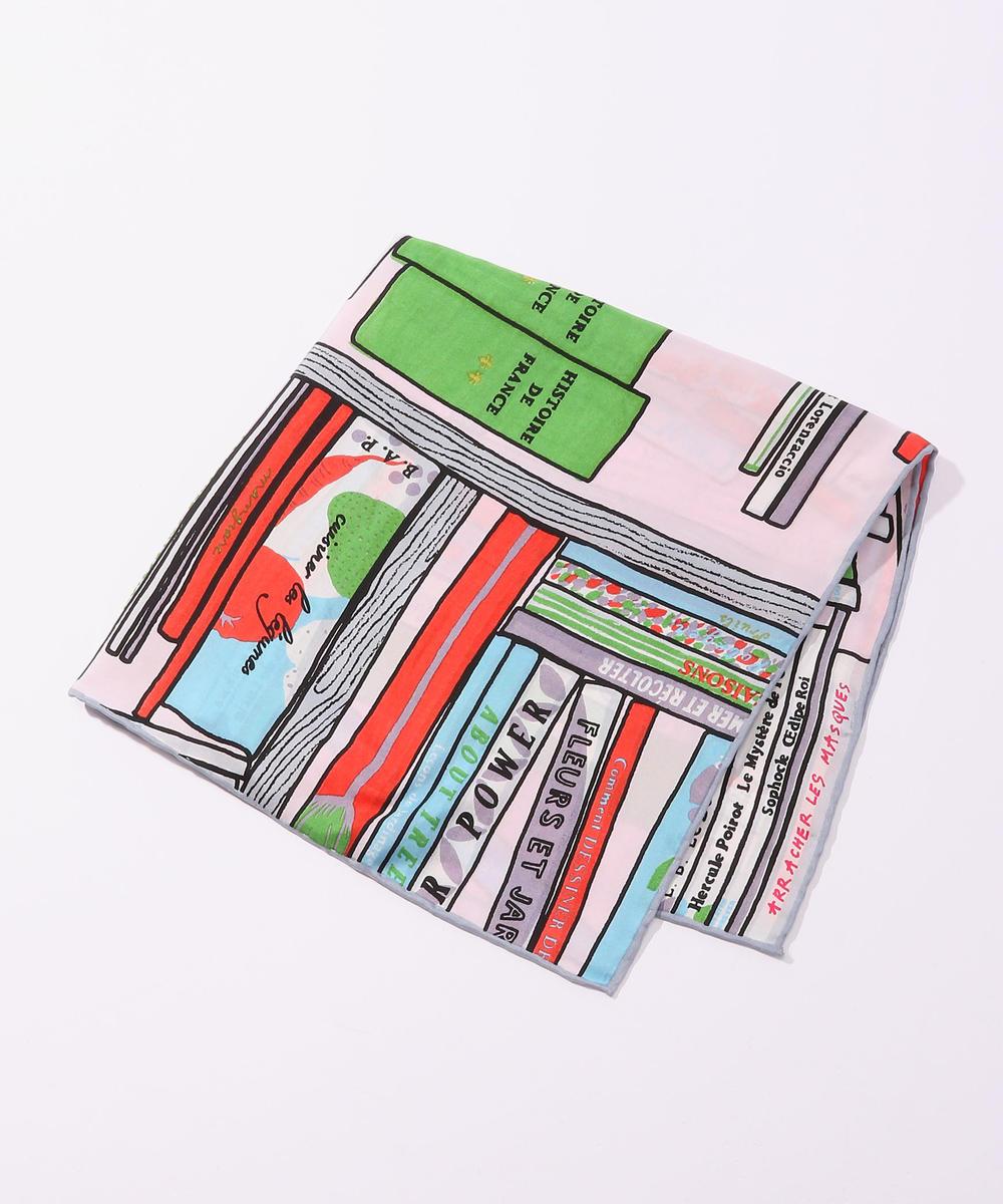 【別注】mii × TOMORROWLAND ビブリオテークプリントスカーフ