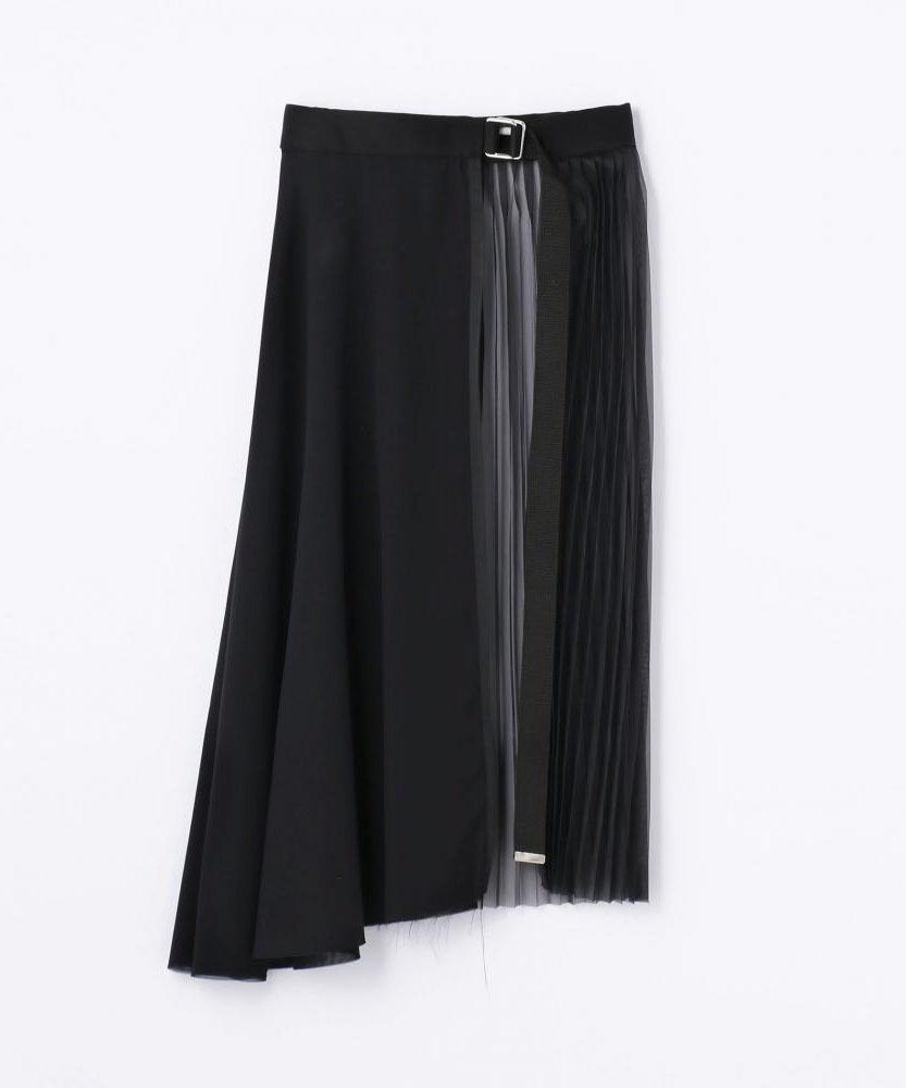 【別注】CLEANA アクセサリープリーツスカート