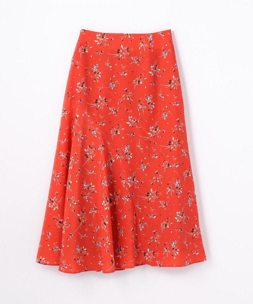 【別注】MITTERNACHT×EDITION フラワープリントスカート