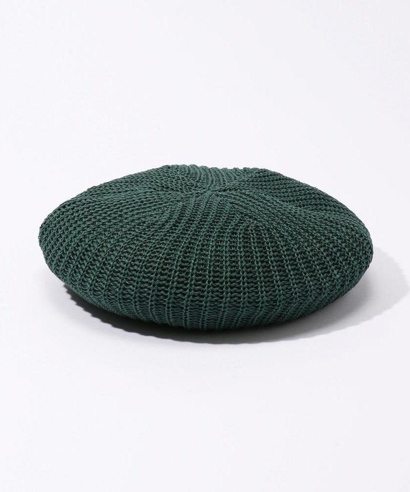【別注】KIJIMATAKAYUKI×EDITION リネンニットベレー帽