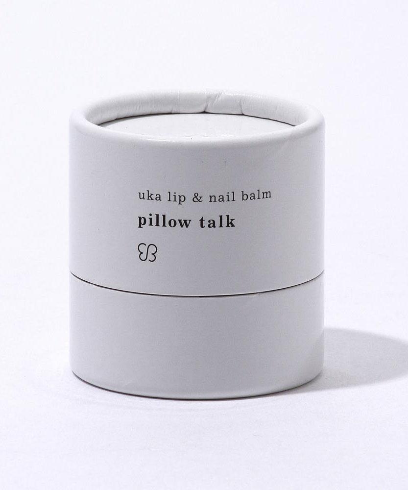 uka lip & nail balm pillow talk