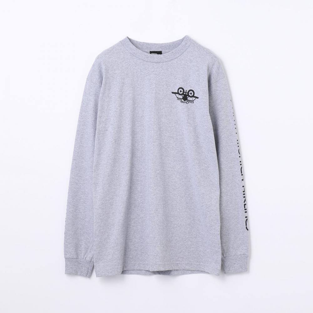 SANTA MONICA AIRLINES by EDITION コットンジャージー ロングスリーブTシャツ
