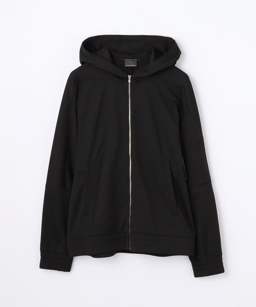 exoskelton by EDITION HOODED MA-1 フーデッドブルゾン