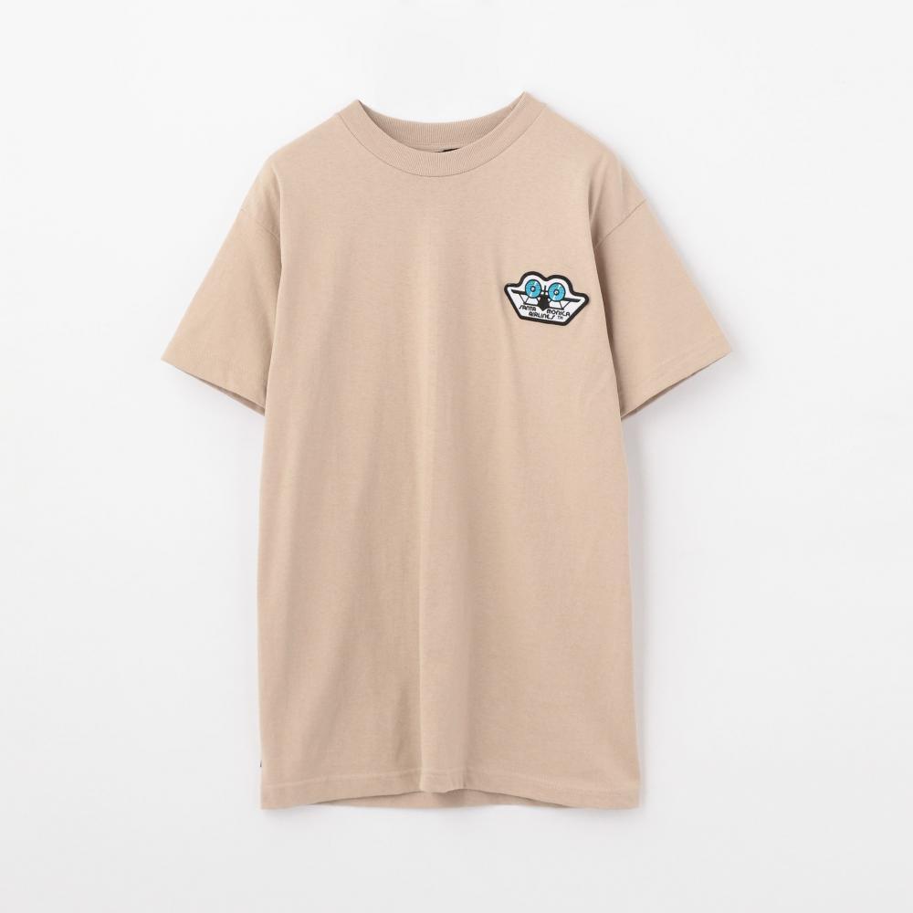 SANTA MONICA AIRLINES by EDITION コットンジャージー Tシャツ
