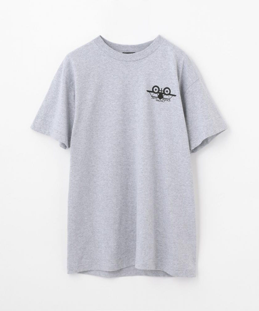 SANTA MONICA AIRLINES by EDITION コットンジャージー プリントTシャツ