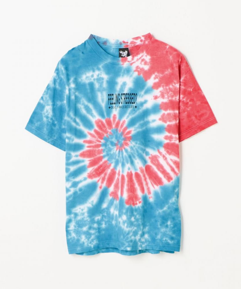 THE QUIET LIFE STRESSED OUT TIE DYE T SHIRTS タイダイ染めTシャツ