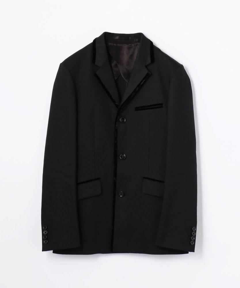 ブラックデニム テーラードジャケット