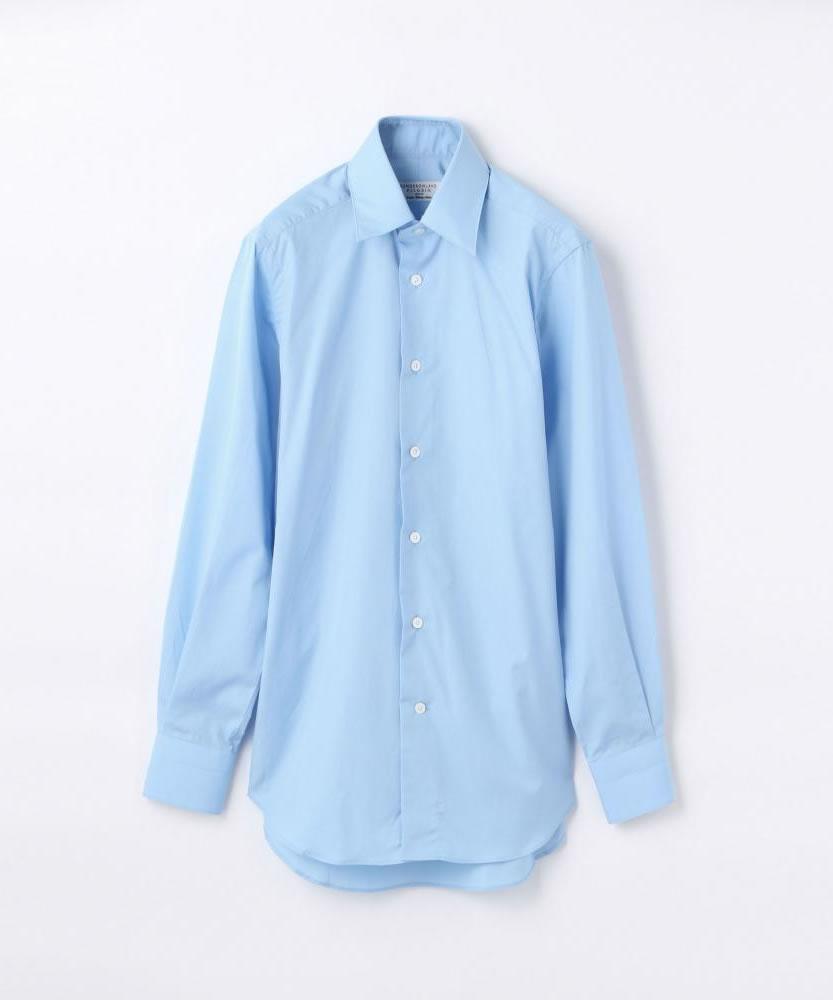 140/2コットンブロード レギュラーカラー ドレスシャツ
