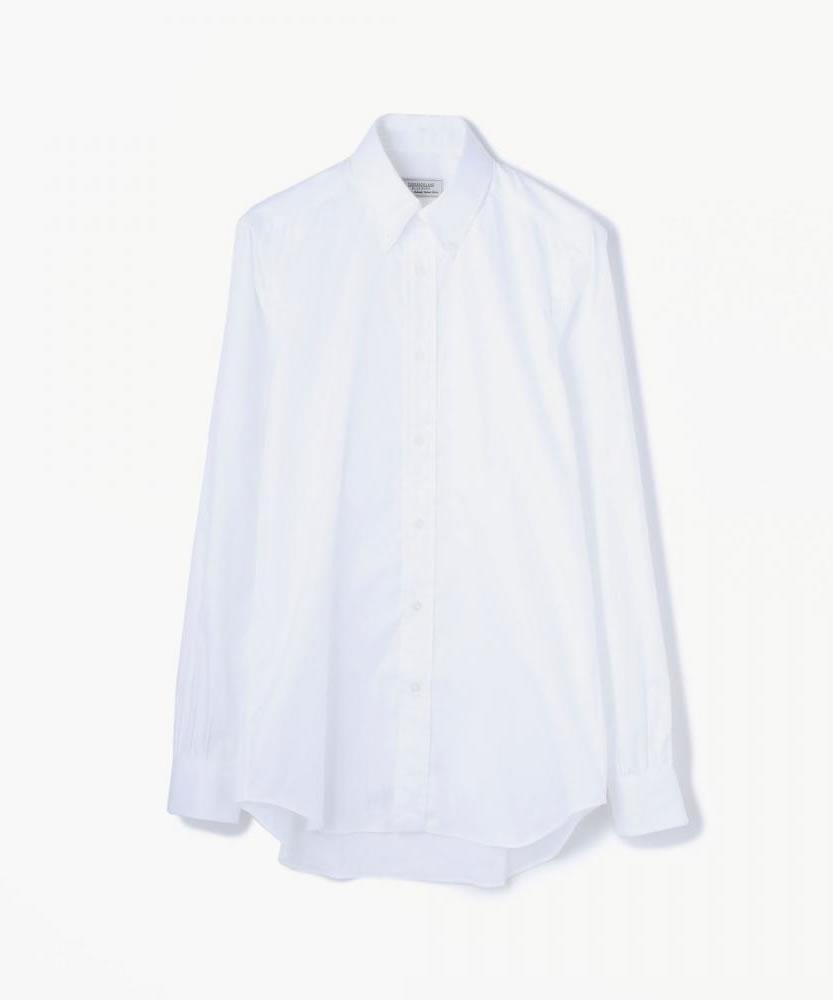 80/2コットンピンポイントオックスフォード ボタンダウンカラーシャツ