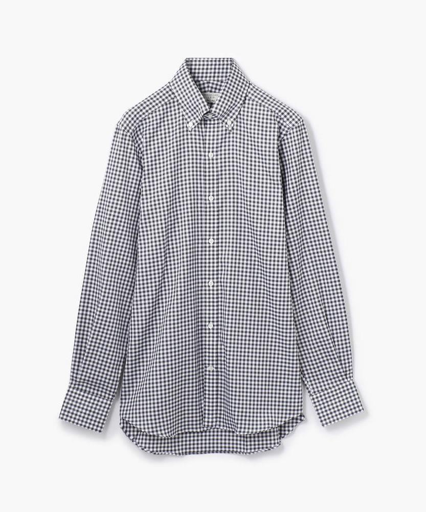 120/2コットンオックス ボタンダウン ドレスシャツ
