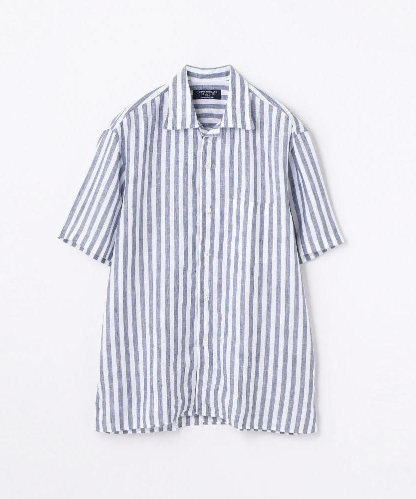 サハラ オープンカラーショートスリーブシャツ