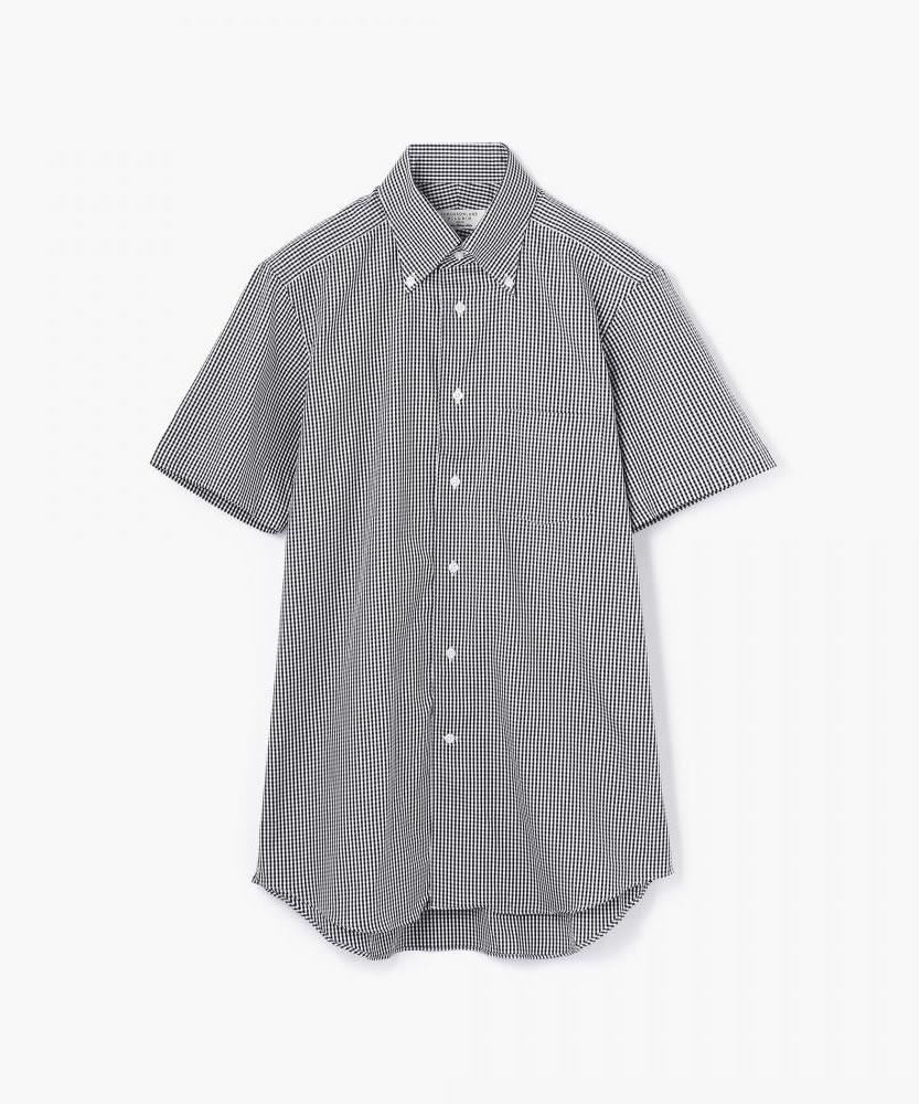 80/2オックスフォード ボタンダウンショートスリーブシャツ