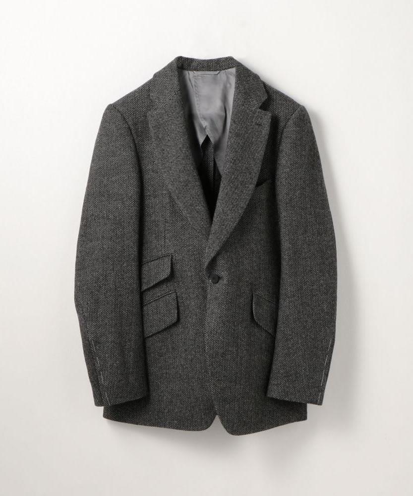 【別注】LE VERNEUIL ウールポリエステル テーラードジャケット