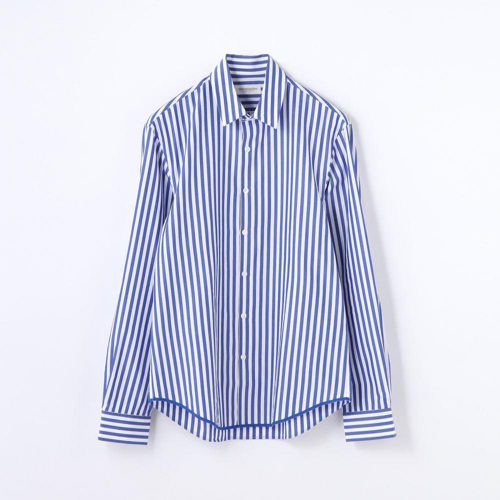 コットンポプリン レギュラーカラーシャツ