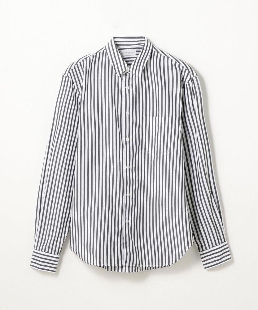 100/2コットンポプリン レギュラーカラーシャツ