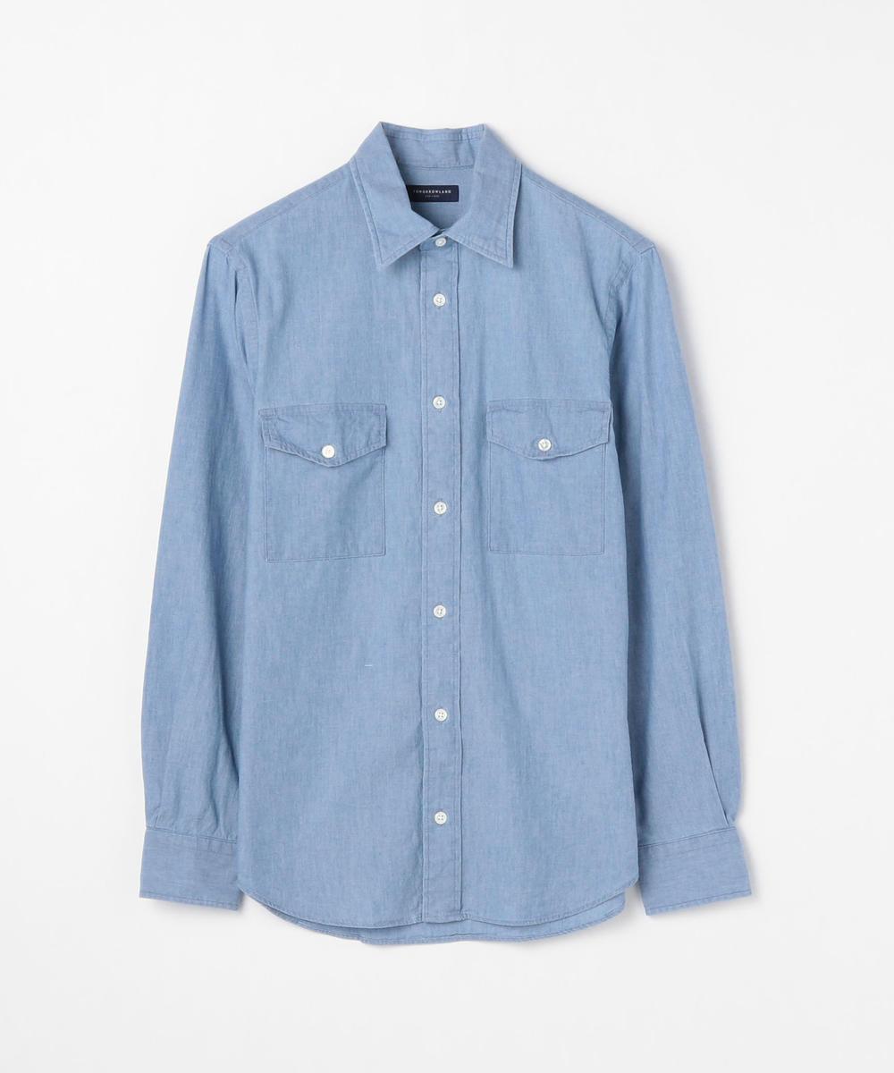 80/2コットンオックスフォード レギュラーカラーシャツ